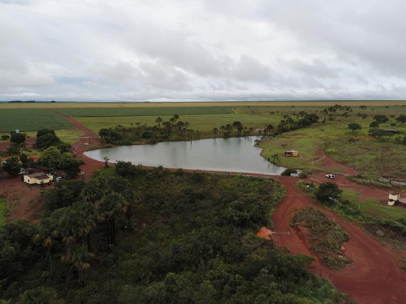Projeto de barragem