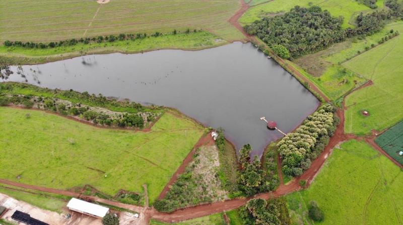 Projeto de barragem de terra